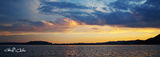 Picture of / about 'Gosford' New South Wales - Golden Horizon - Sunset over Woy Woy and Koolewong. Brisbane waters.
