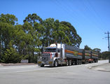 Picture relating to Mount Barker - titled 'SRT Roadtrain'