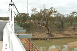 Picture relating to Wakool River - titled 'Wakool River from the Coonimut Bridge.'