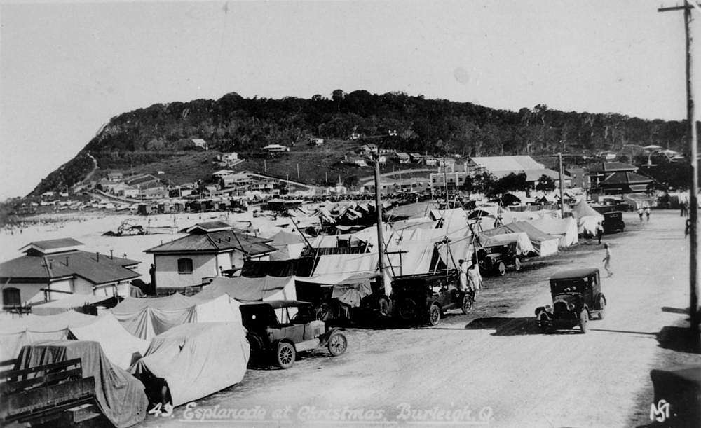 Christmas Camping Australia.Pictures Of Australia From 1932