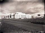 Picture relating to Parliament House - titled 'Old Parliament House from west under construction'