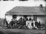 Picture relating to Cleveland - titled 'Sunday school class in the old Cleveland Court House, ca. 1871'