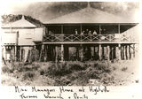 Picture relating to Wee McGregor Mine - titled 'Mine Managers House'