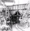 Picture relating to Ivanhoe Mine - titled 'Ivanhoe Mine tramway cutting.'