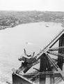 Picture relating to Sydney Harbour Bridge - titled 'View of Lavender Bay and North Sydney from Harbour Bridge'