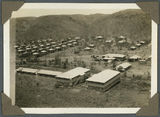 Picture relating to Mount Isa - titled 'Miners' quarters at Mount Isa Mines, ca. 1936'