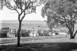Picture relating to Parkes - titled 'Oakley and Parkes cottages, Empire Circuit Forrest. June 1926.'