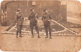 "Picture relating to Brisbane - titled 'Brisbane, 3 Australian "" Diggers""  WWI'"