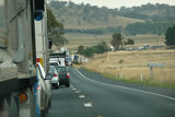 Picture relating to Barton Highway - titled 'Barton Highway Crash'