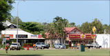 Picture relating to Broome - titled 'Park and Shops Broome WA'